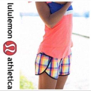 Lululemon lined groove run shorts
